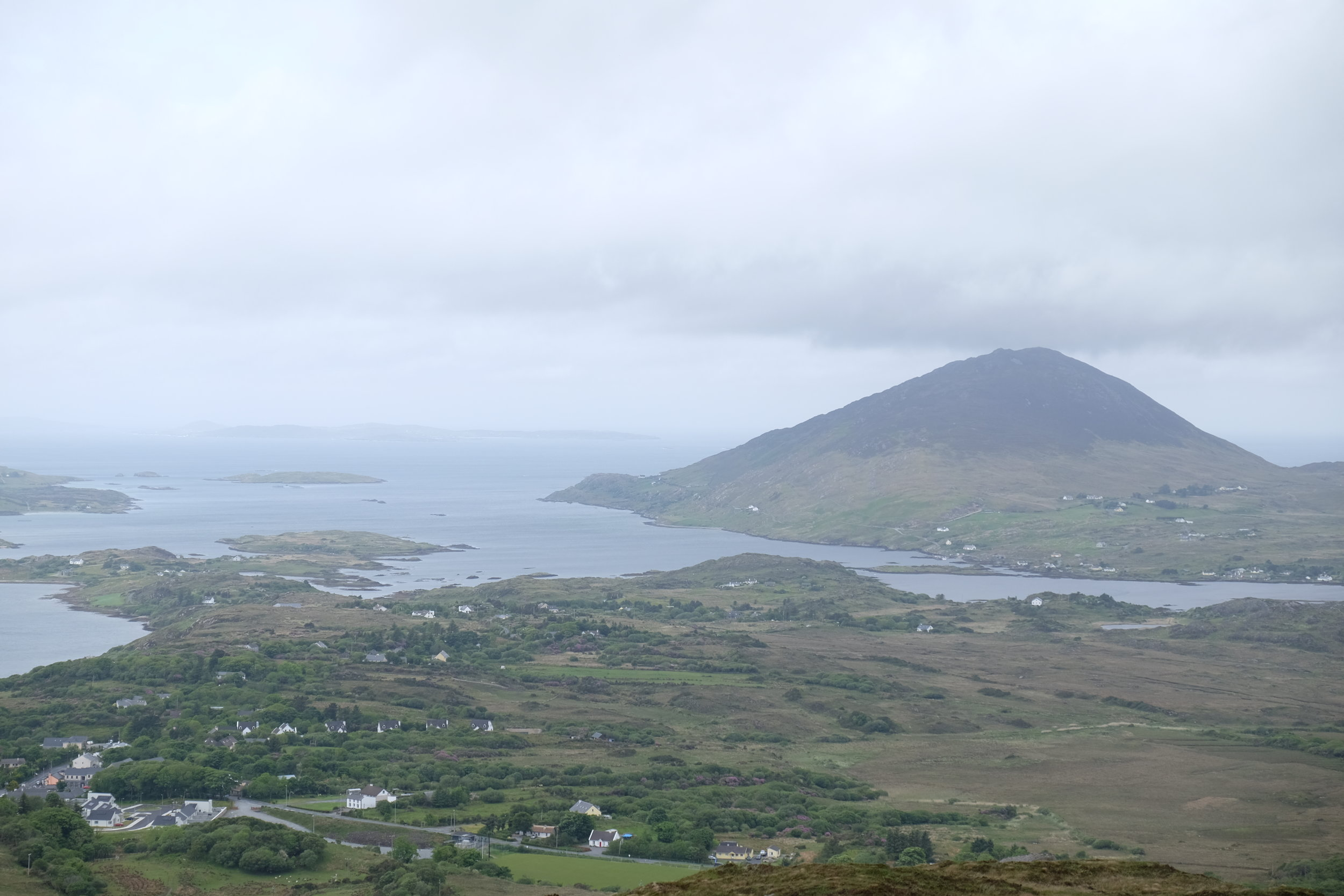 View atop Knocknarea.