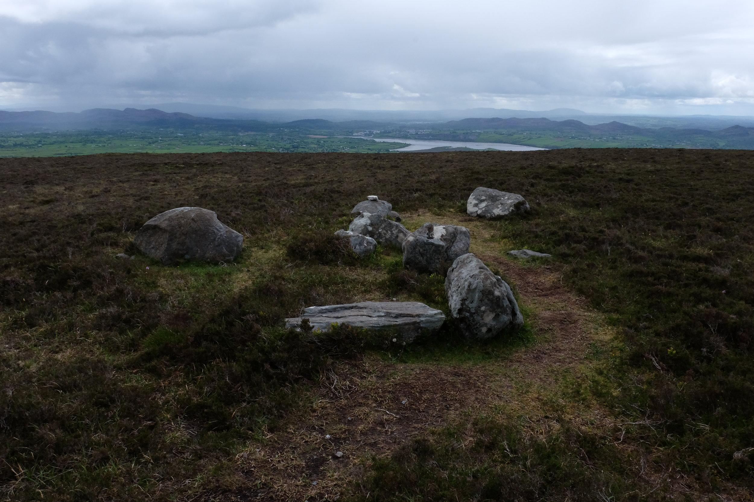 Queen Medb's cairn.