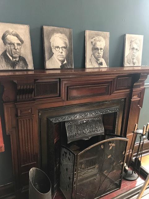 Many faces of Yeats.
