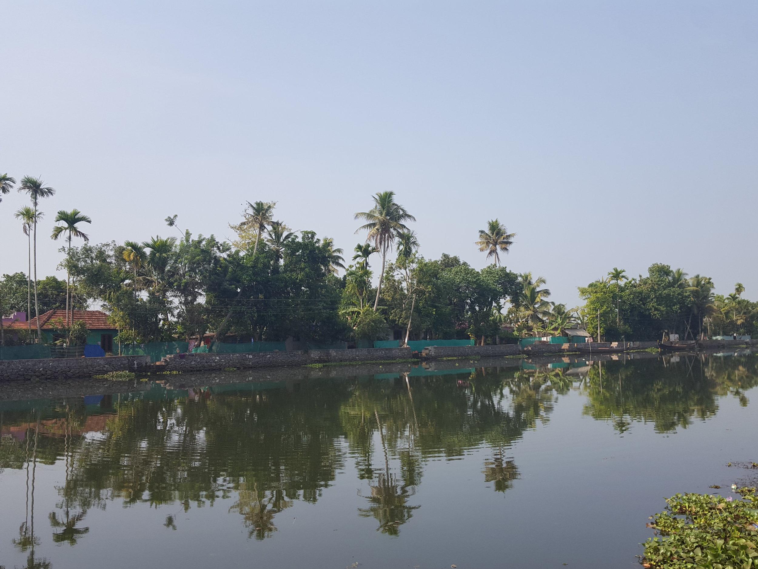 Photograph by Mary Ann Thomas Description: The final plane ride took me to Kerala, India.