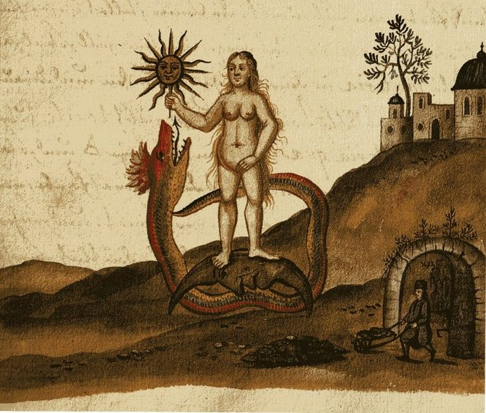 Image from the Clavis Artis