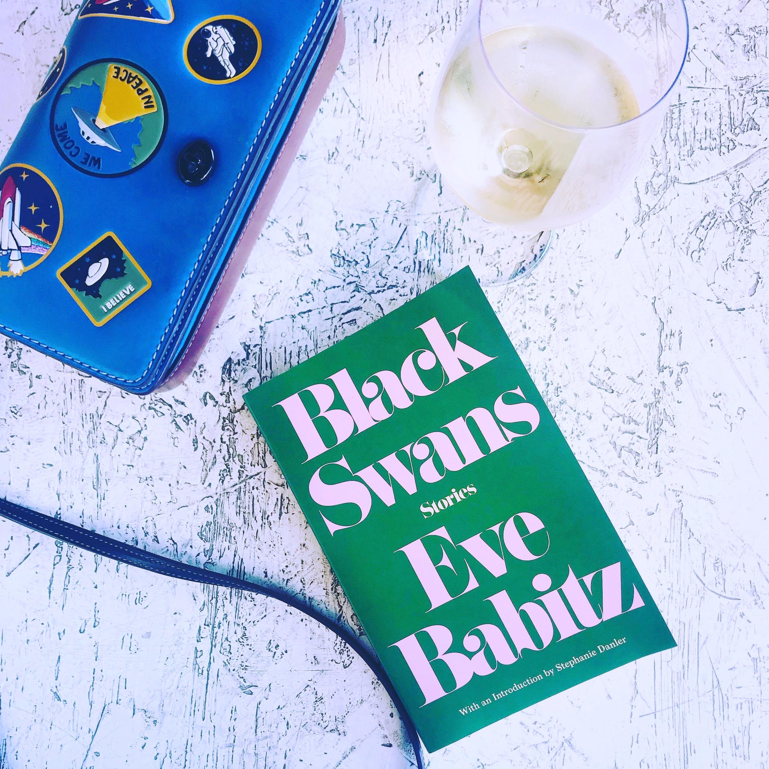 Enjoying Babtiz & some summer evening wine.