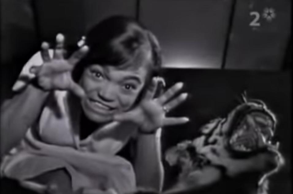Eartha Kitt, i want to be evil