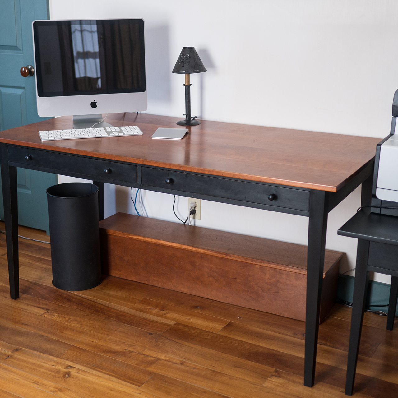 Shaker Two Drawer Desk/Table