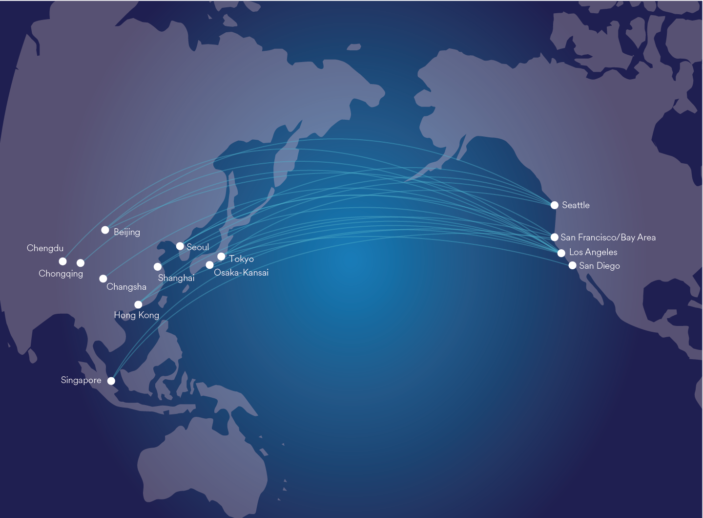 3. The route map used for other channels such as the Alaska Magazine and advertising