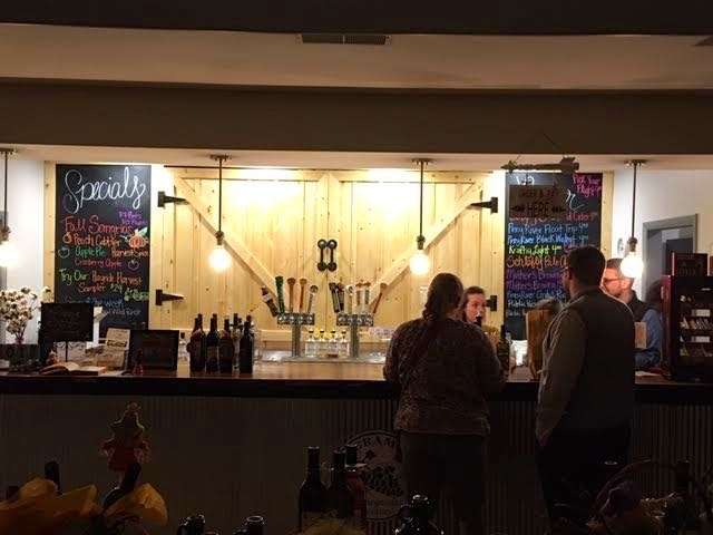 Local wines, beers, daily menus, live music. Great place! (Photo by Charlotte Ekker Wiggins)