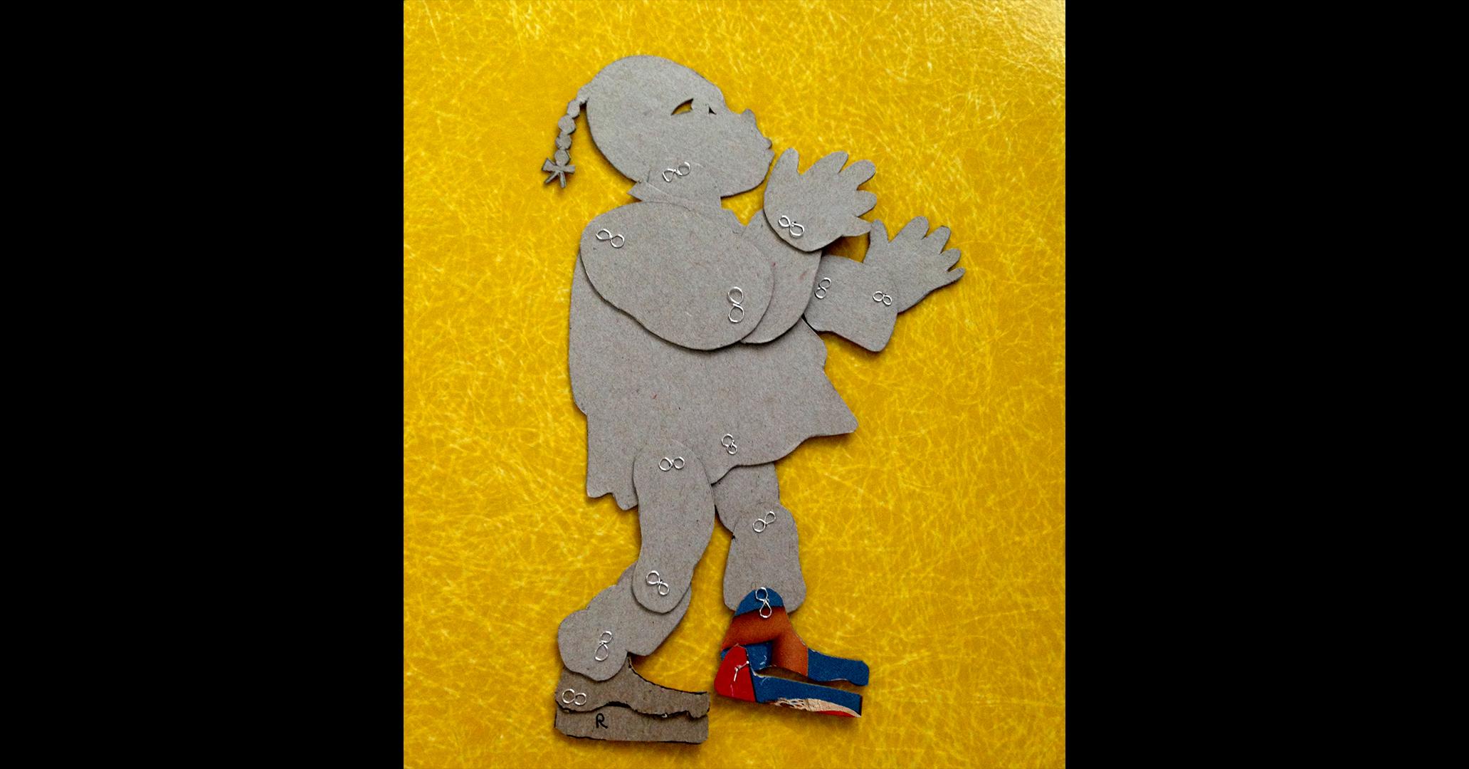 Wegener puppet