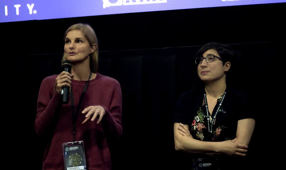 Q&A at the Florida Film Festival