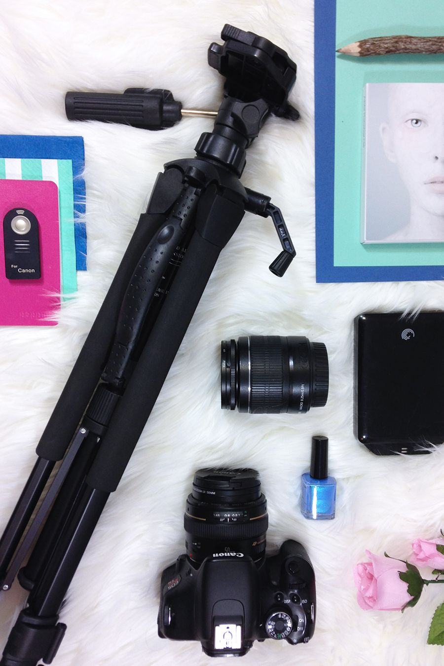 Must have photography kit for bloggers and creative entrepreneurs.