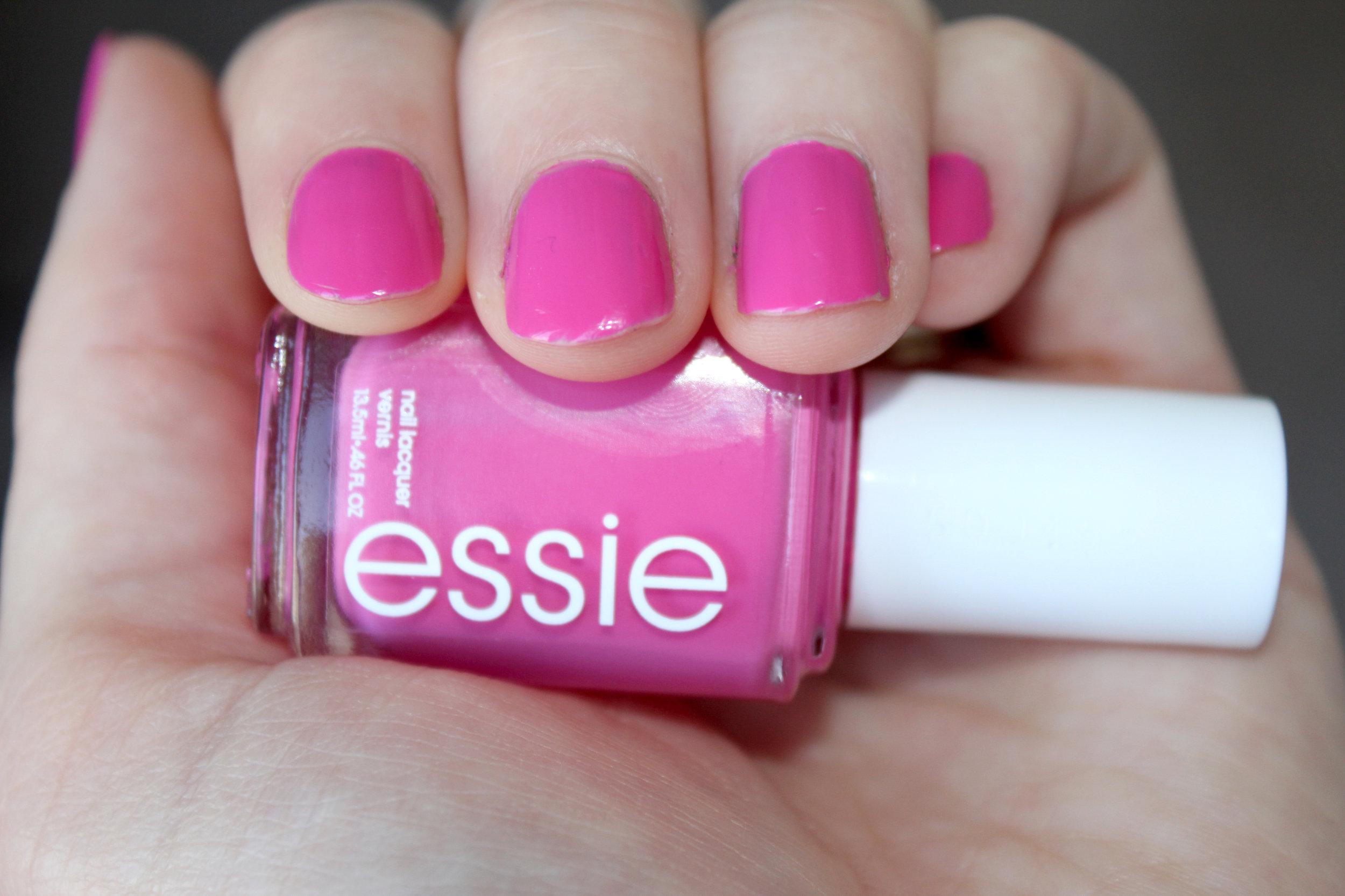 pink geometric nail art step 1.jpg