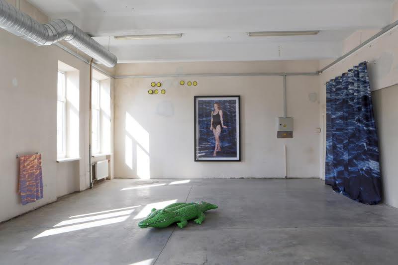 Līga Spunde,    Hope I won't get bored in heaven,   2015 (installation view).