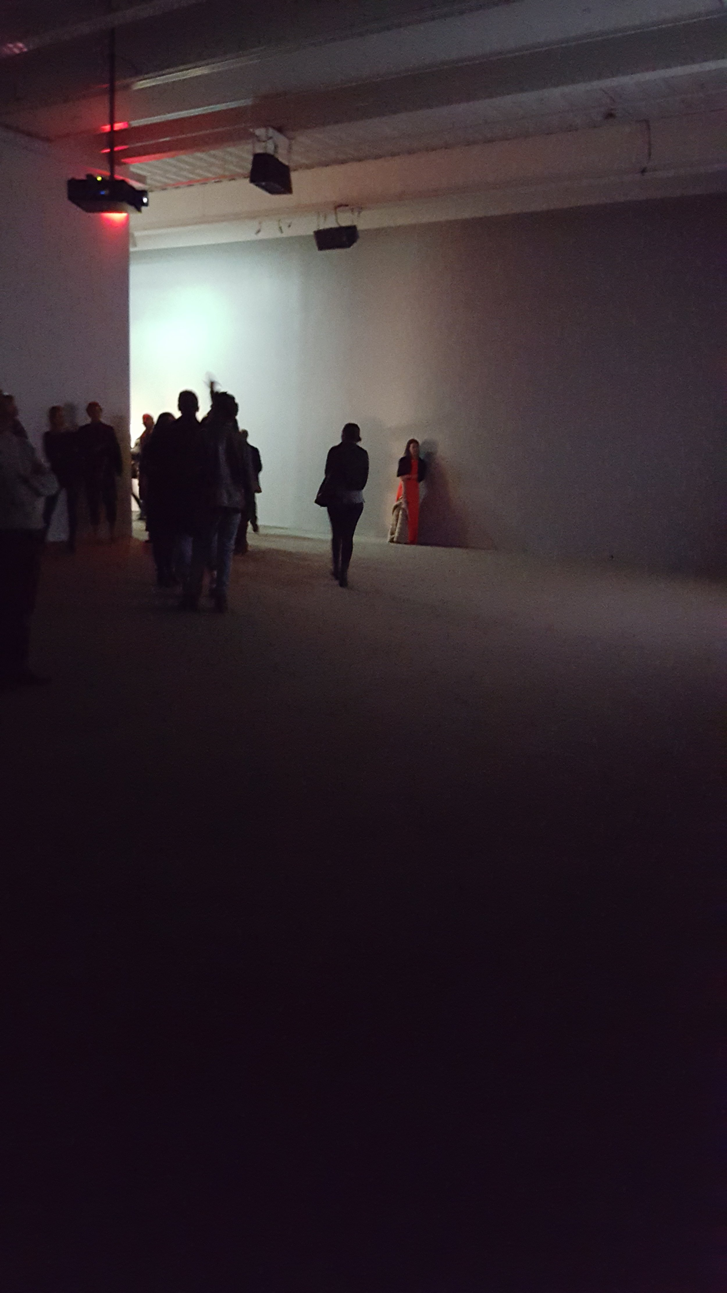 Exhibition view of  Anri Sala: Answer Me  at the New Museum, New York, 2016. Photo: Alise Tifentale.