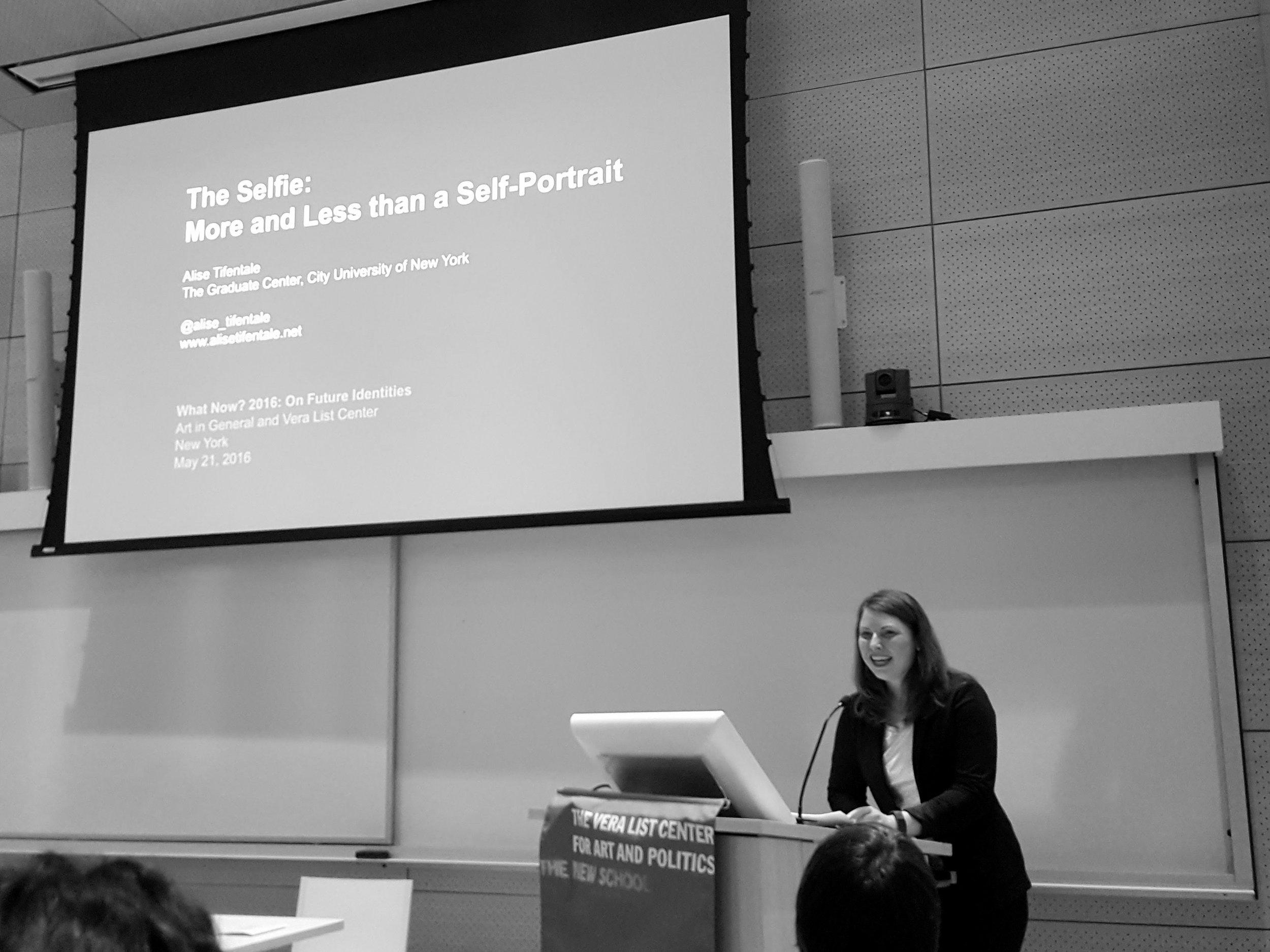 The talk. Photo: Anne Barlow.