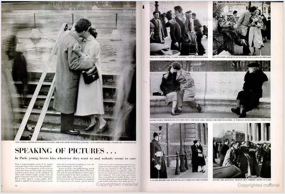 Find a famous, iconic photograph on this spread! Life.  June 12, 1950.