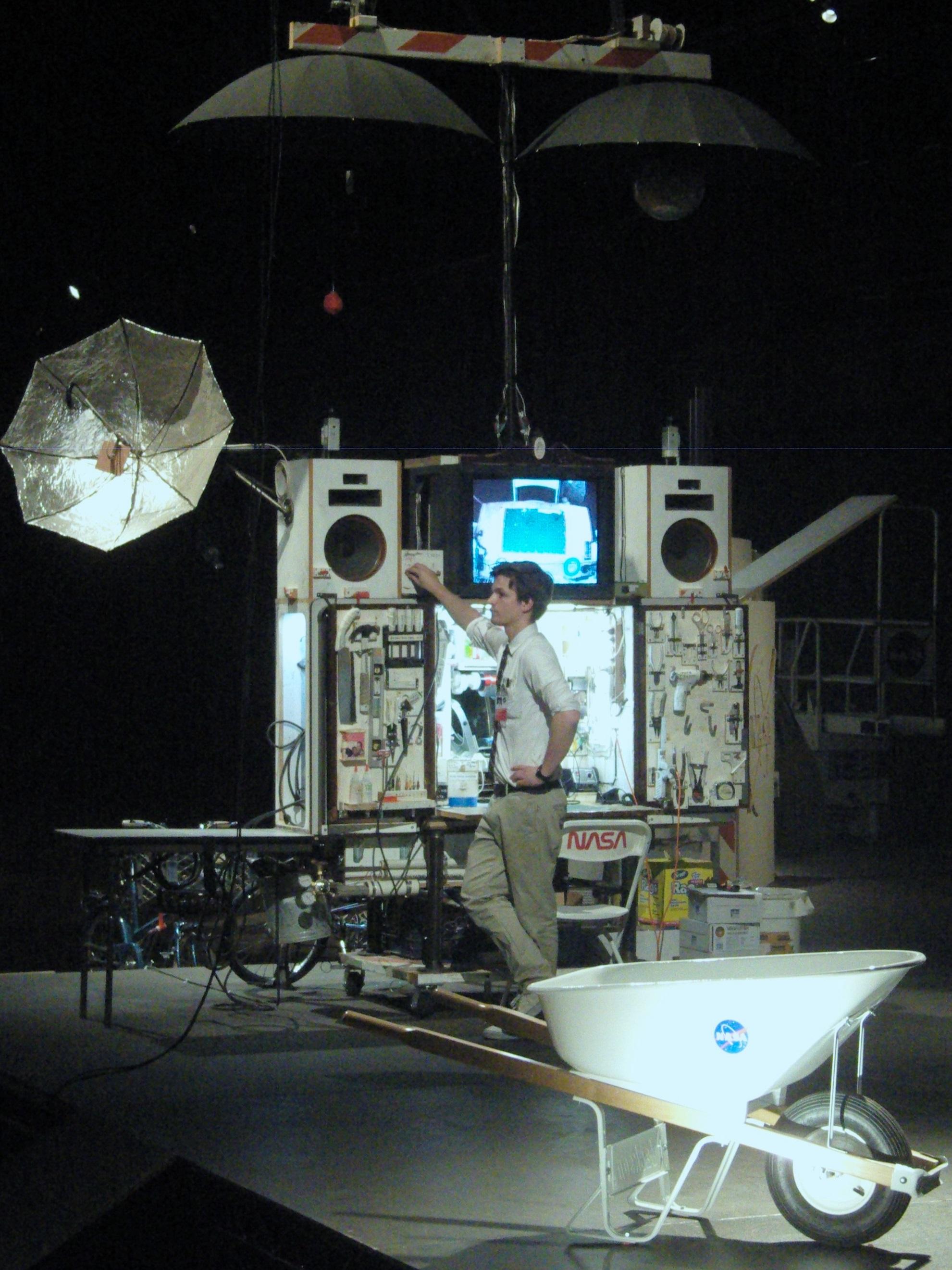 Tom Sachs,  Space Program: Mars , 2012. Detail. Photo: © Alise Tifentale.