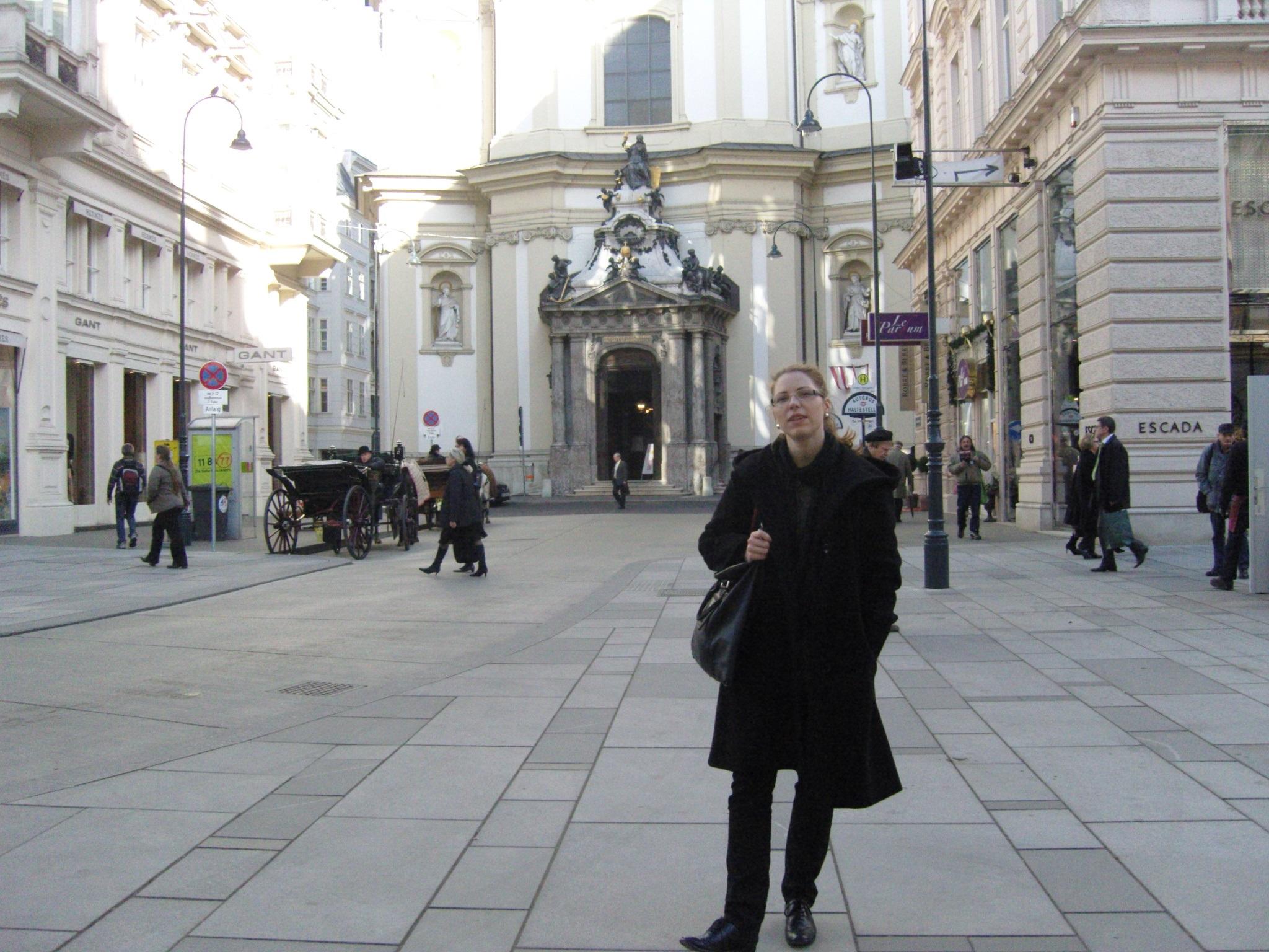 On my way to see  Gender Check  at the MUMOK, Vienna. Photo: © Zenta Dzividzinska.