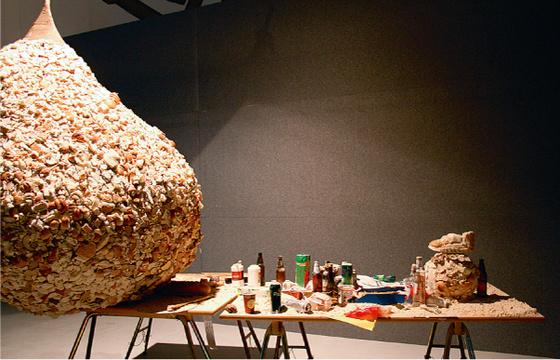Ha Za Vu Zu.  Bread Way.  Installation. 2009. Photo: © Alise Tifentale.