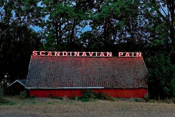 Ragnar Kjartansson.  Scandinavian Pain (twilight) . Print. Edition of 5. 35x50cm. 2006. Courtesy of the artist, Luhring Augustine, New York and Galleri i8, Reykjavik