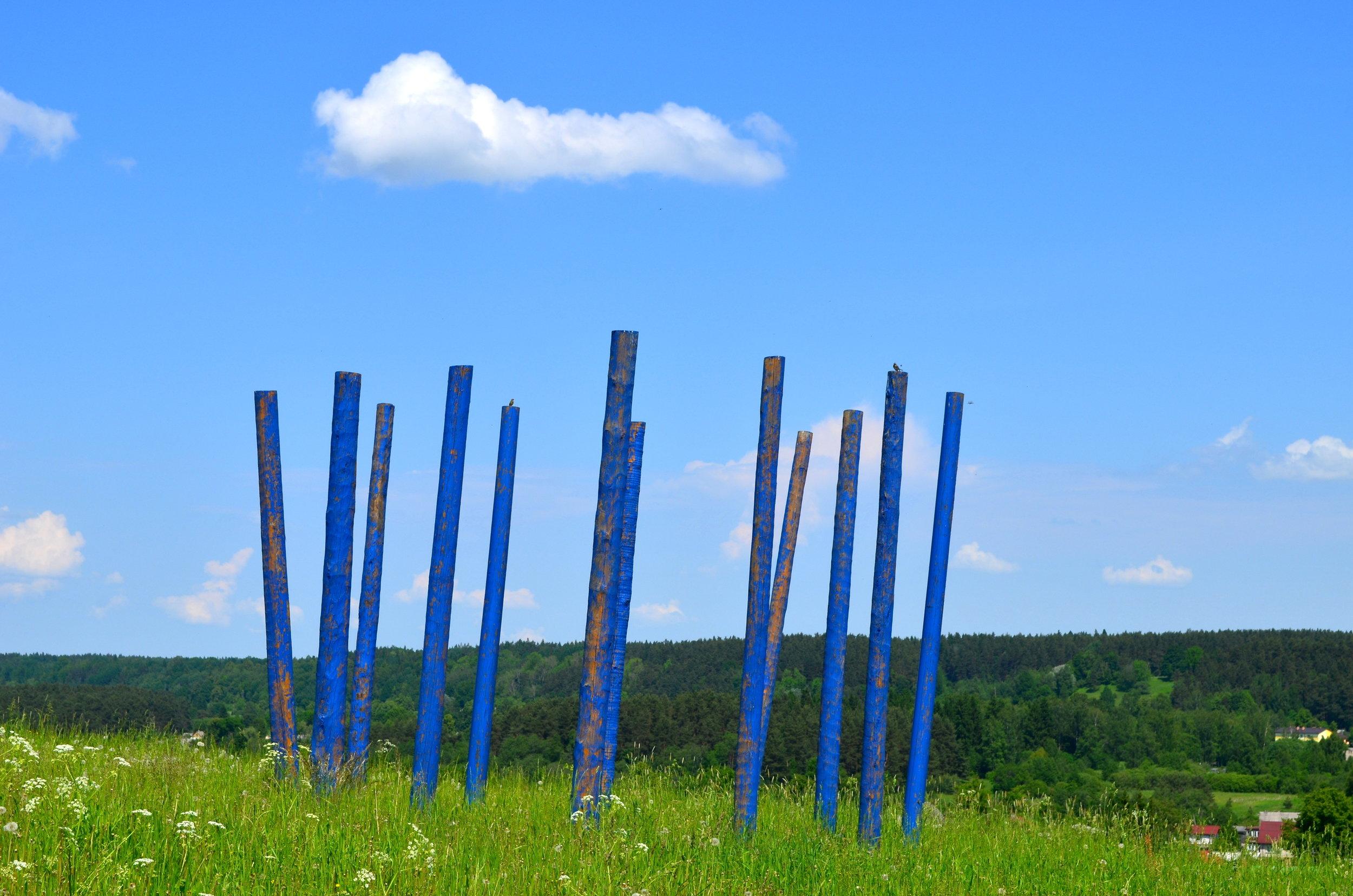 Laura Feldberga.  Nostalgia.  Pedvale Open-Air Art Museum, Latvia. Photo: Laima Gūtmane.