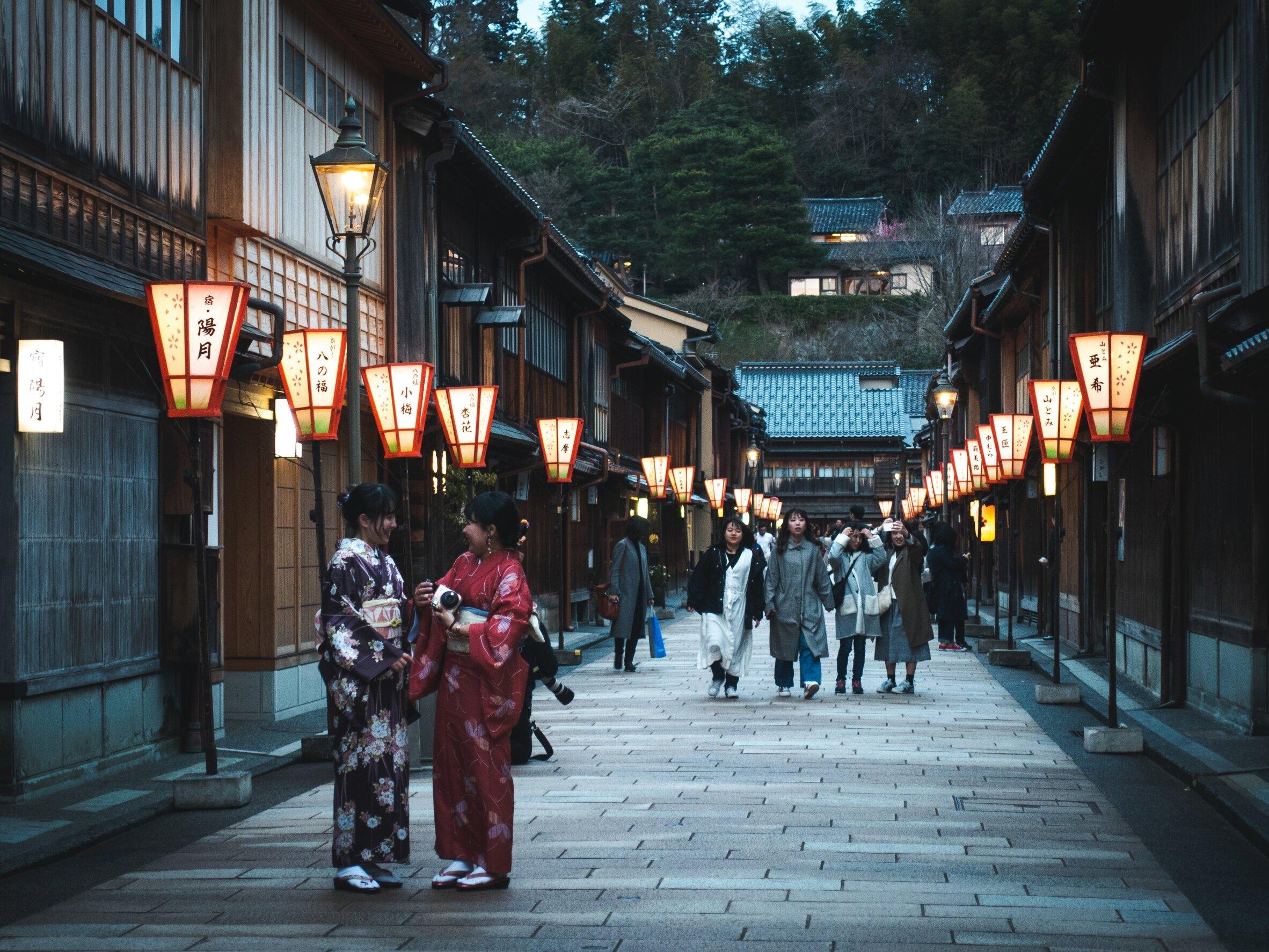 Kanazawa was easily one of my favorite cities!