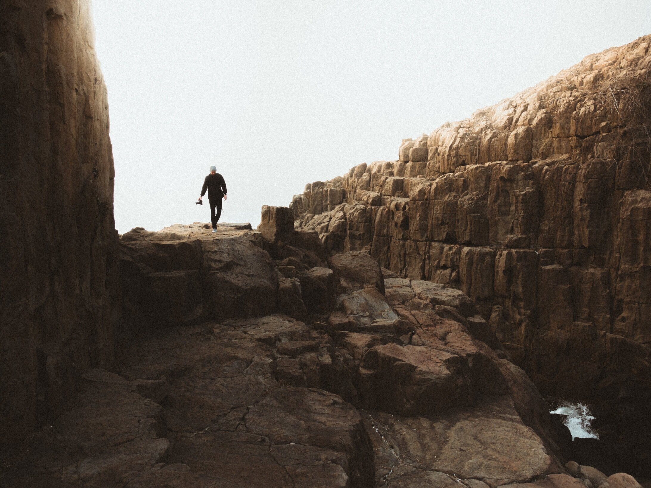 We explored the cliffs of Tojinbo, a hidden gem on the northern coast of Honshu, Japan's main island.