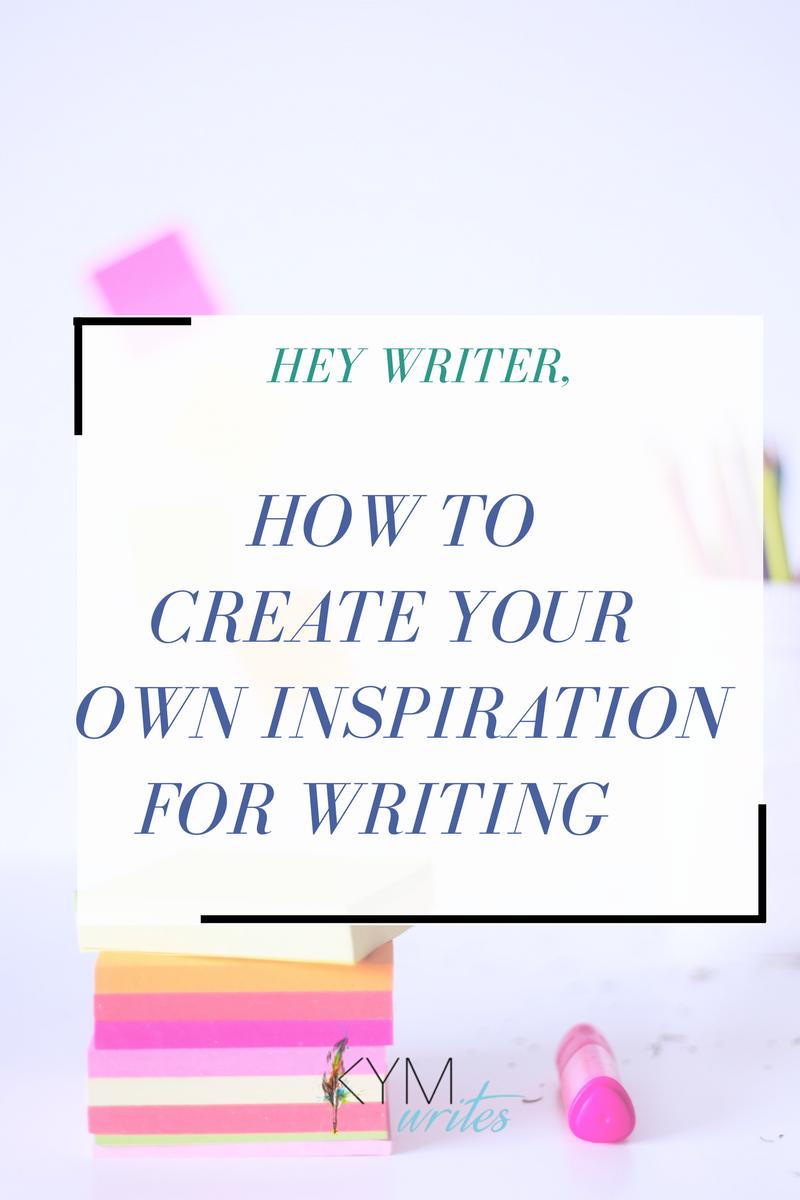 writing inspiration