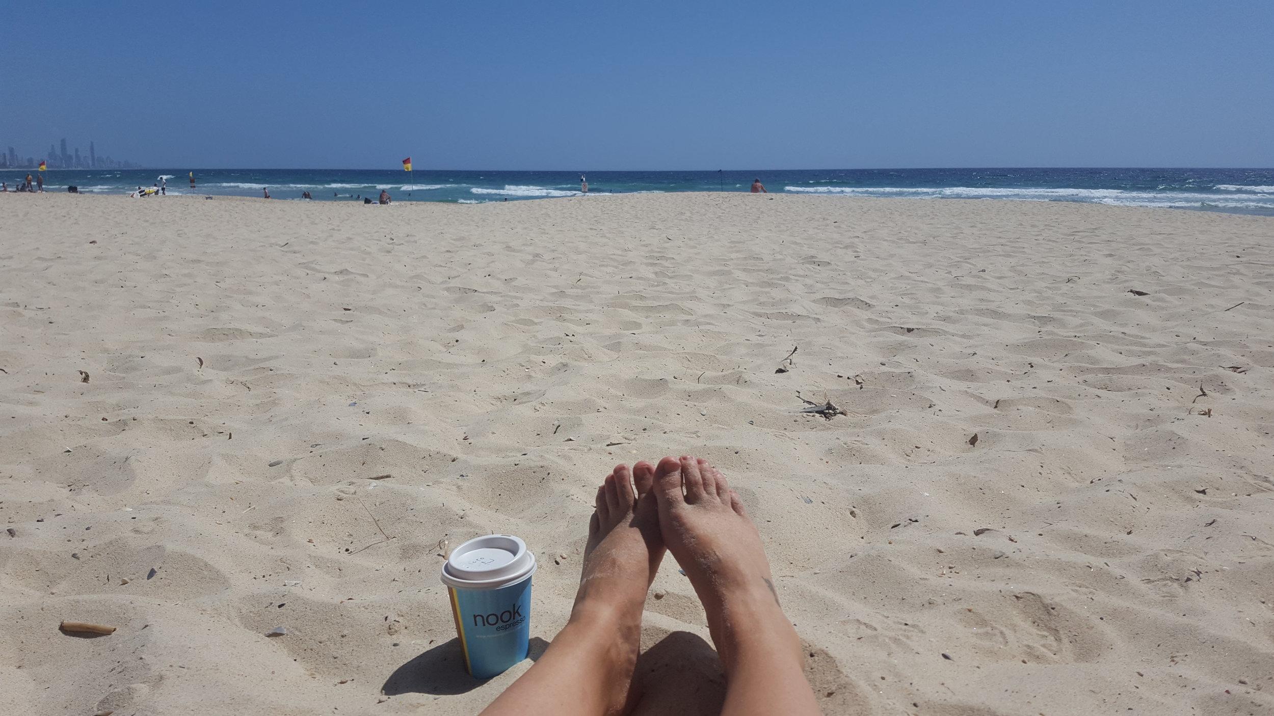 Dear Australian beach and beautiful Aussie coffee, I will miss you so.