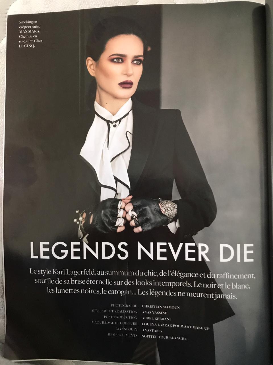 FDM mars 2019 - tribute Karl Lagerfeld