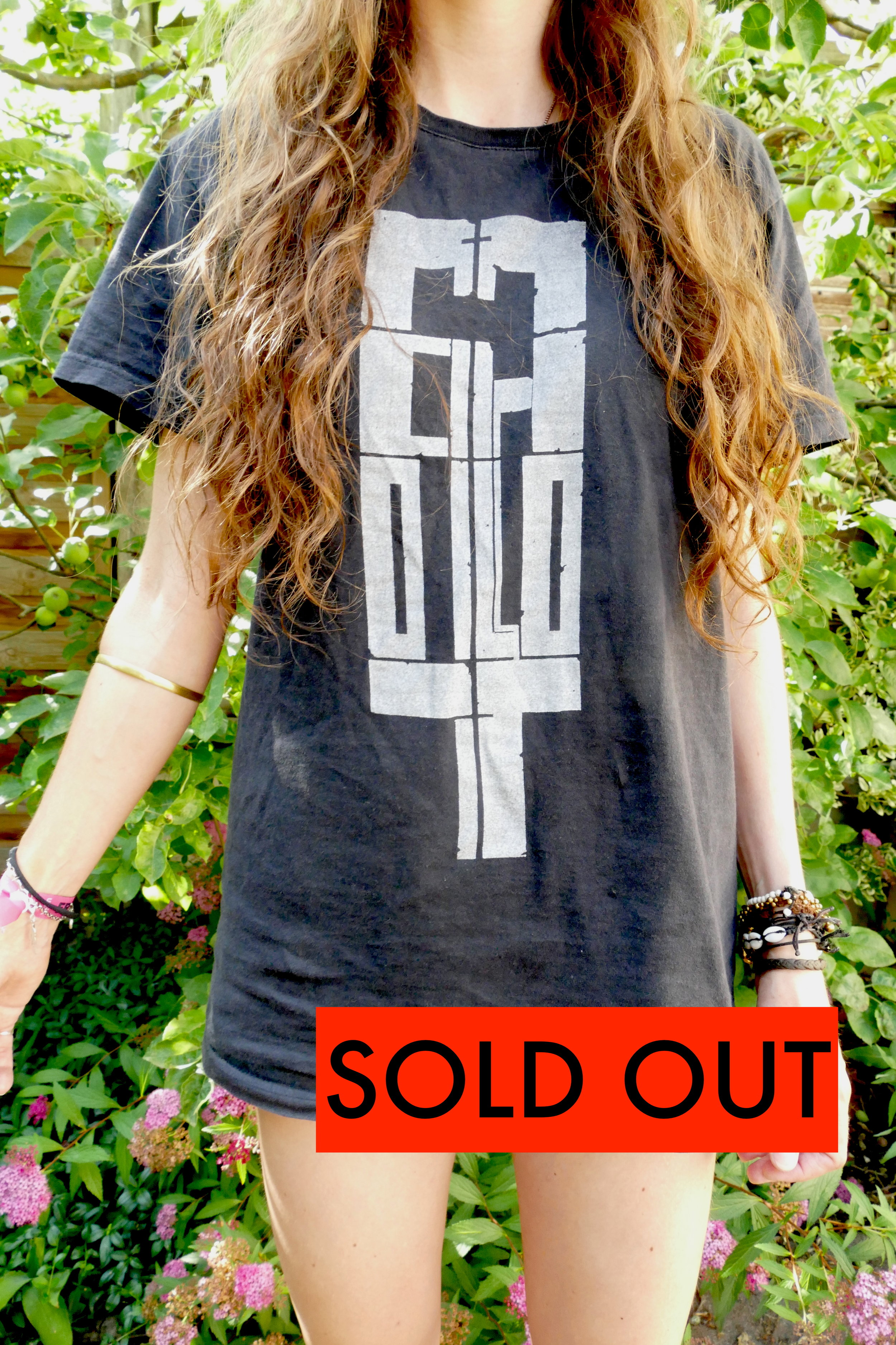 SOLD OUT - WHITE ON BLACK
