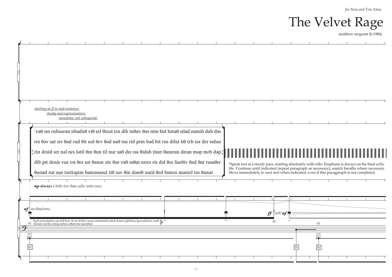 Matthew Sergeant - The Velvet Rage (2017) - page 1