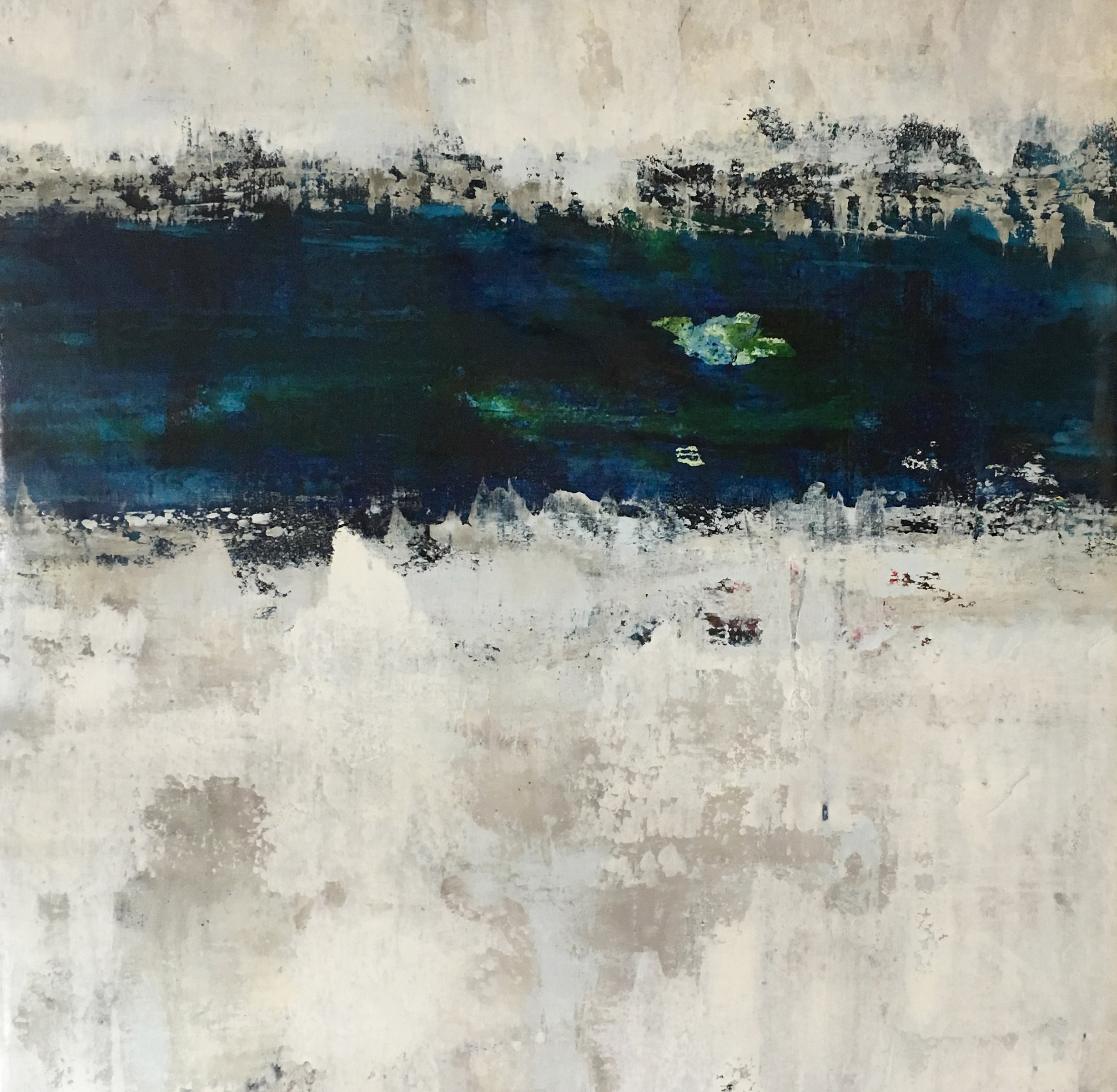 Leitner_Blue Variation III_Oil on Canvas_ 48X53.jpg