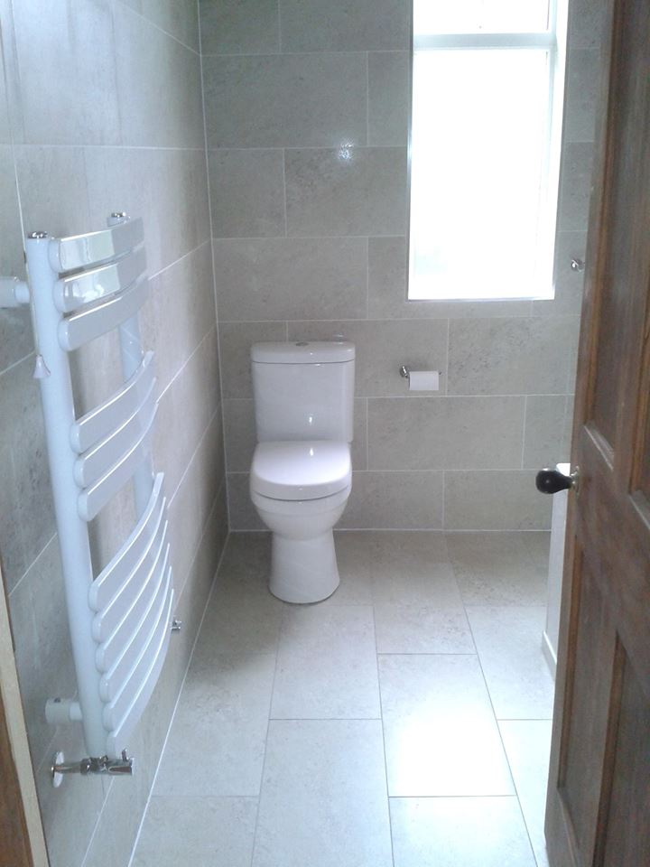 Bathroom renovation and fitting for customer near Glasgow.