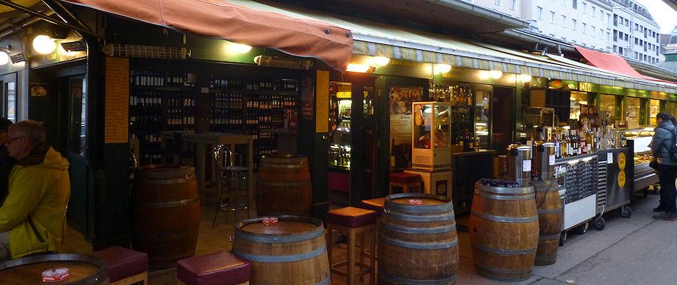 Best Bars Vienna ~ Naschmarkt