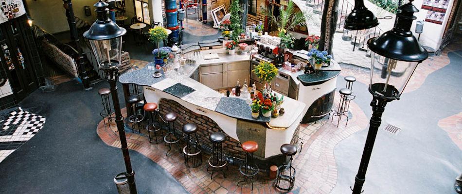 Best Bars Vienna ~ Hundertwasser Village