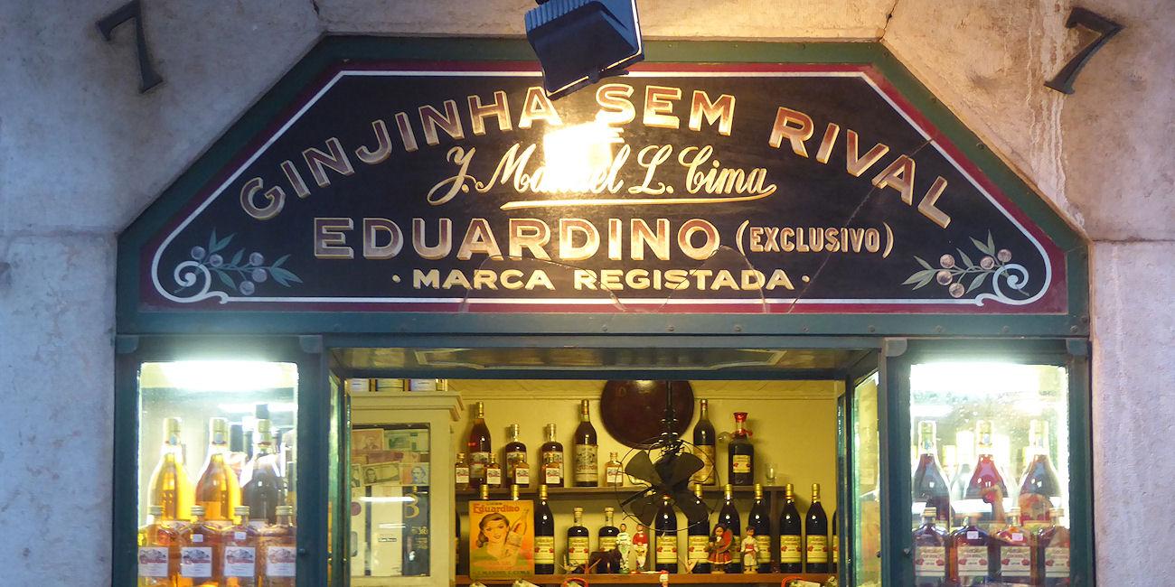Best Bars Lisbon ~ Ginjinha Sem Rival