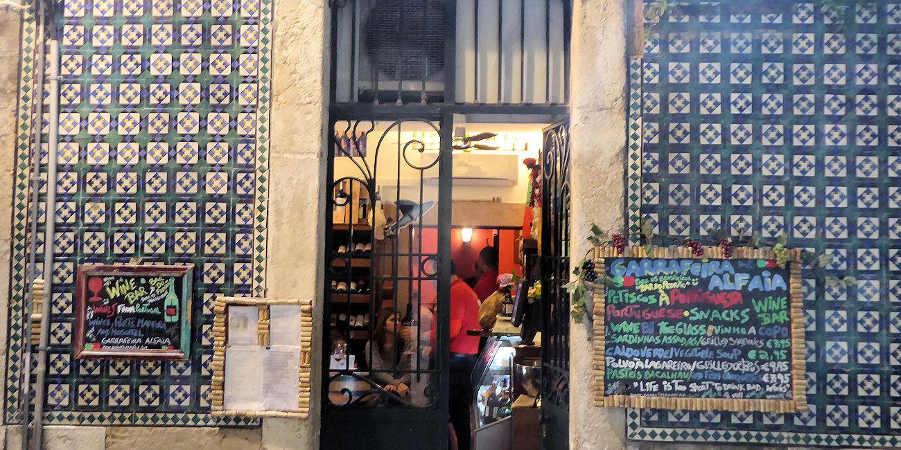 Best Bars Lisbon ~ Garrafeira Alfaia