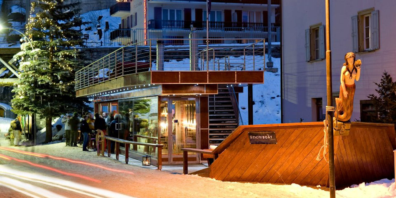 Best Bars Zermatt ~ Snowboat