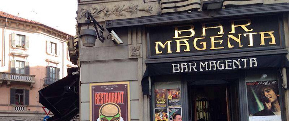 Best Bars Milan ~ Bar Magenta / Photo:Bar-Magenta