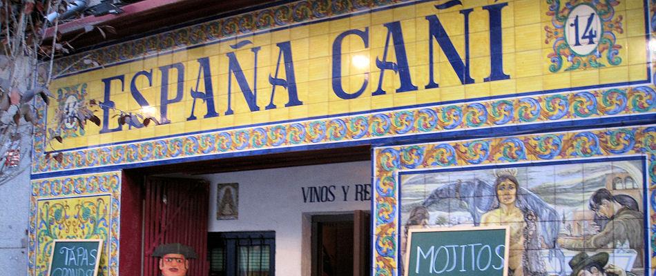 Best Bars Madrid ~ Espana Cani / Photo: Facebook ESPAÑA-CAÑI