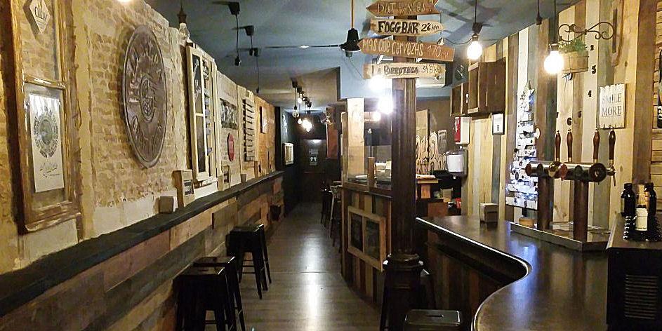 Best Bars Madrid ~ Fogg Bar / Photo: Twitter FoggBar