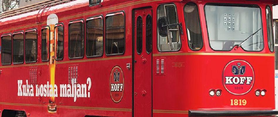 Best Bars Helsinki ~ Sparakoff Tram