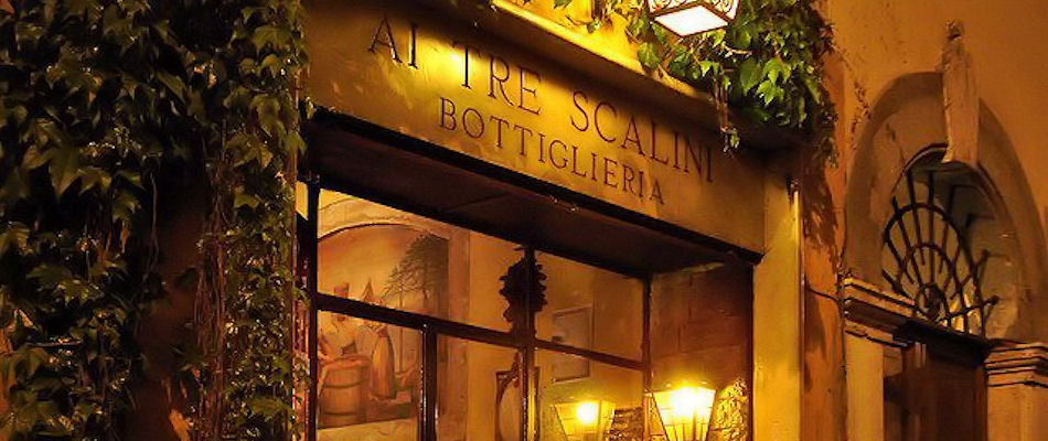 Best Bars Rome ~ Ai Tre Scalini / Photo: Facebook aitrescalini