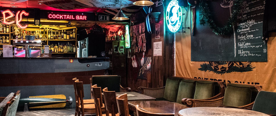 Best Bars Helsinki ~ Navy Jerry's / Photo: Facebook navyjerrysrumbar