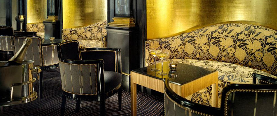 Best Bars London ~ Beaufort Bar at The Savoy / Photo: fairmont.com