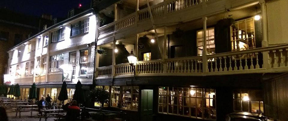 Best Pub London ~ The George Inn / Photo: nationaltrust.org.uk