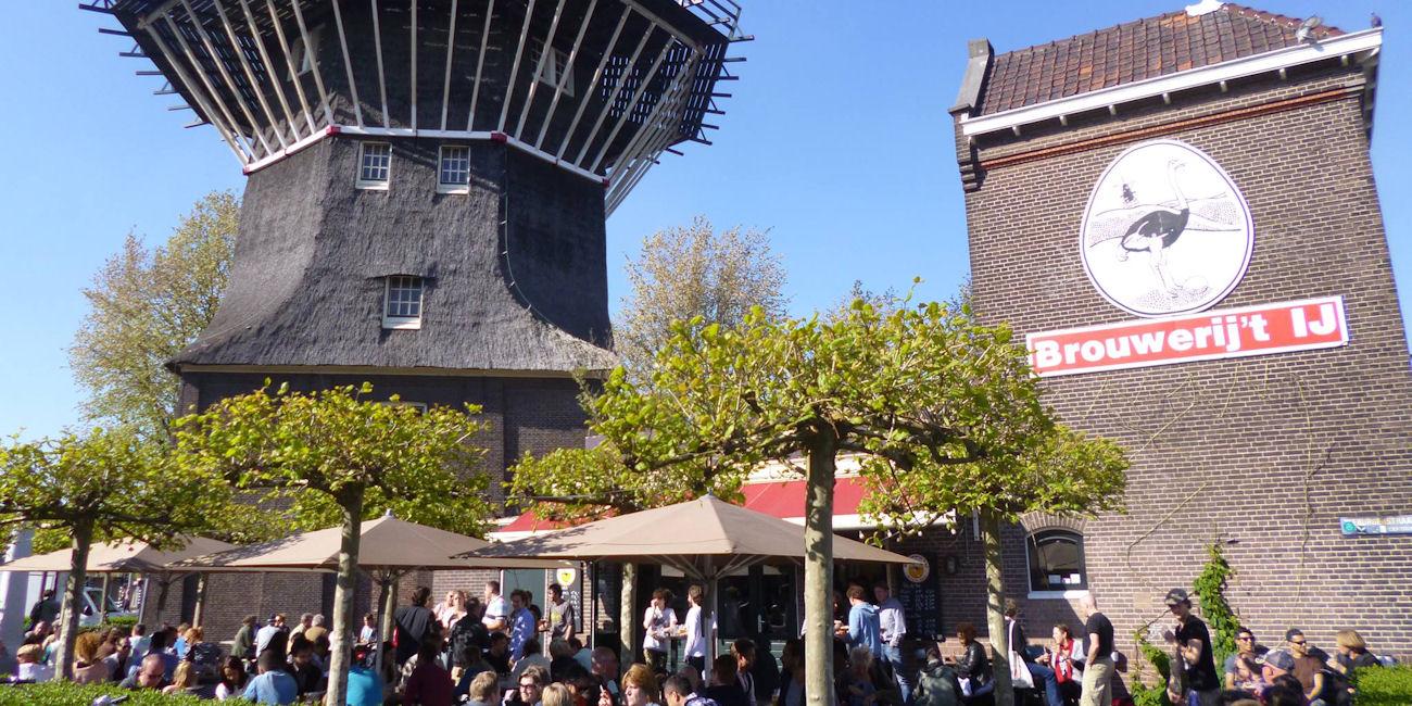 Best Bars Amsterdam ~ Brouwerij 't Ij/ Photo: brouwerijhetij.nl