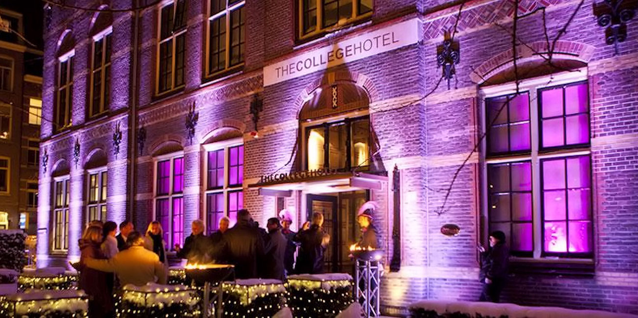 Best Bars Amsterdam ~ The College Hotel Lobby Bar / Photo: thecollegehotel.com