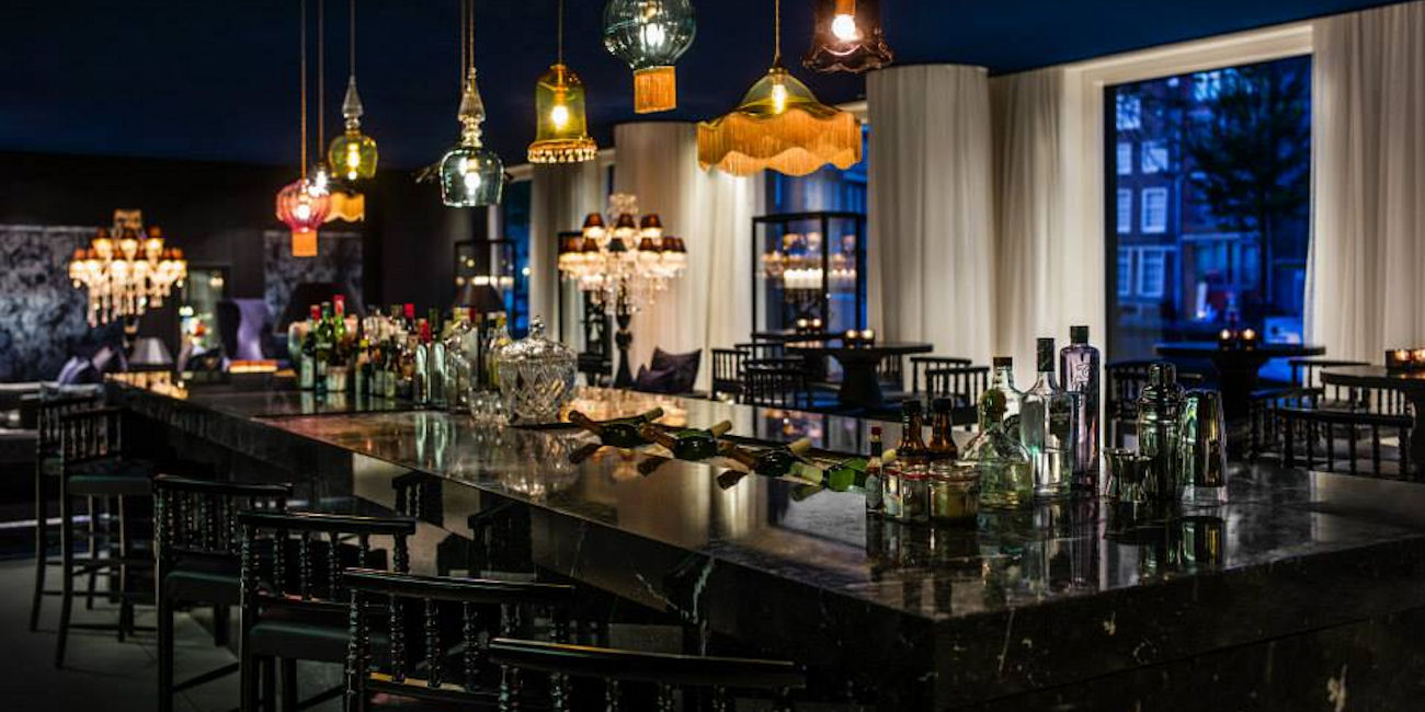 Best Bars Amsterdam ~Blue Spoon / Photo: hyatt.com