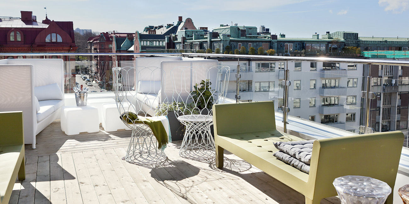 Best Bars Gothenburg ~ Roof Top Bar / Photos: scandichotels.com