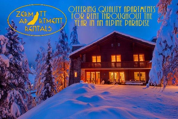 Zermatt Apartment Rentals